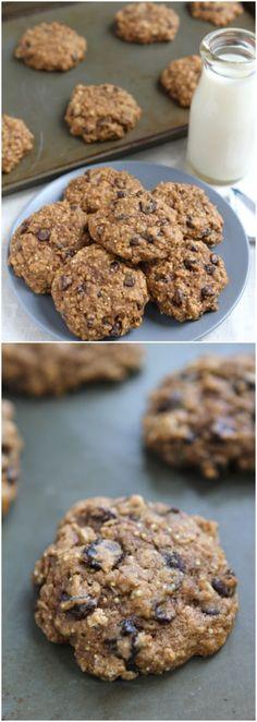 Quinoa Cookie Recipe on twopeasandtheirpod.com Love these healthy cookies! #cookies