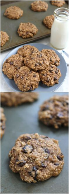 Quinoa Cookie Recipe on twopeasandtheirpod.com Love these healthy cookies! #cookies