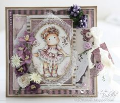 Ballerina Tilda / Cards by Camilla