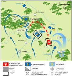 battle of Korsun 1648 plan