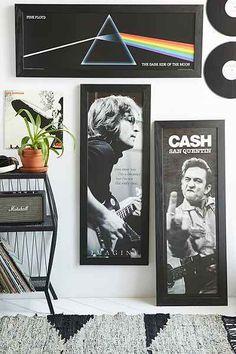 John Lennon Imagine Framed Wall Art - Urban Outfitters