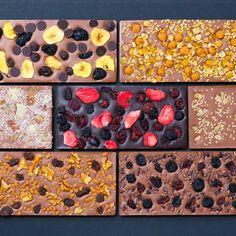 Fruit Lovers Chocolate Bars - Set Of 7 - YUM!