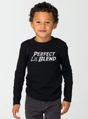 Perfect Lil Blend Long Sleeve Toddler and Youth T-Shirt