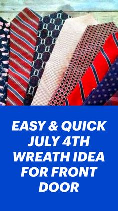 Summer Holiday Activities, Summer Crafts, Holiday Crafts, Patriotic Crafts, July Crafts, Wreath Crafts, Wreath Ideas, Craft Room Design, Backyard Patio Designs