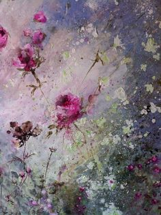 Laurence Amelie. French artist. Beautiful feminine work of art. Tutus and flowers.