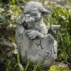 Campania International, Inc Shelley Statue Color: English Moss