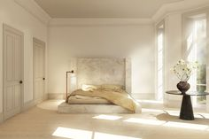 Copenhagen's Studio Oliver Gustav sold this alabaster bed designed by Rick Owens for $227,000.