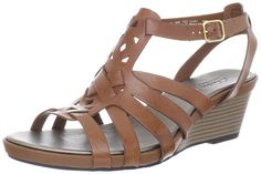 Clarks Women's Clarks Lucia Coral Wedge Sandal * Click image for more details.