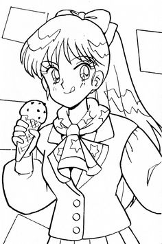 Sailor Moon Coloring Pages, Beautiful Creatures, Anime, Art, Coloring Pages, Art Background, Kunst, Cartoon Movies, Anime Music