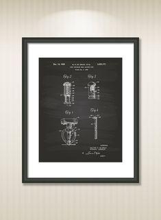 Fire Sprinkler Head 1965 Patent Art Illustration  by TawerArt
