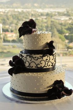cake idea. Maybe  not just black