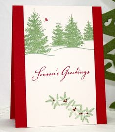 CAS143 - Scenic Season by cookiebaker - Cards and Paper Crafts at Splitcoaststampers