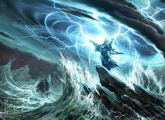 Controlar Elementos/ Tempestade de Raios