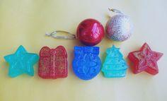 CHRISTMAS SOAP - Christmas soaps - Christmas tree soap, Star soap, Holiday soaps, Christmas gift soaps, Christmas soap, Christmas favors