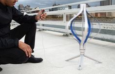 Revolver is a consumer-grade wind turbine that delivers a personal source of off-the-grid power. Designed for mobility and easy assembly, Revolver reimagines wind power at an accessible scale.