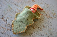 Felt Leaf Fairy Sleeping Bag