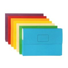 Stationery: Marbig Slimpick Wallet Bright