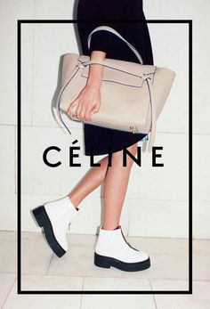Daria Werbowy, Natalie Westling by Juergen Teller for Céline Fall Winter Juergen Teller, Fashion Advertising, Fashion Marketing, Celine Campaign, Celine Belt Bag, Bucket Bag, Promo Flyer, Bag Essentials, Shoes
