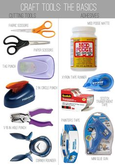 Craft Tools: The Basics