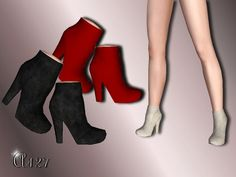 Simple Boots by Altea127 - Sims 3 Downloads CC Caboodle