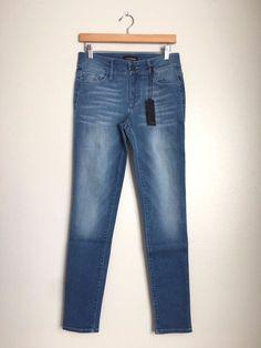 BLACK ORCHID Mid Rise Ankle Slim Skinny Jeans Pants Light Blue 27 $150 #28 #BlackOrchid #SlimSkinny