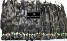 Fine Dark Natural Human Hair