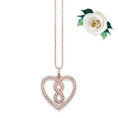 With its lobster clasp and extender chain, the #THOMASSABO #heart #necklace perfectly flatters the neckline of the wearer.