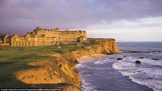 Ritz-Carlton Half Moon Bay, named one of the World's Best Places to Stay by Conde Nast