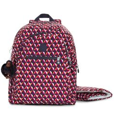 6f8bbc77f9 Kipling s Bizzy Boo is a cute baby bag backpack with an active appeal