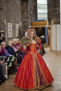 Renaissance Costume Fashion Show by Edinburgh Museums & Galleries, via Flickr