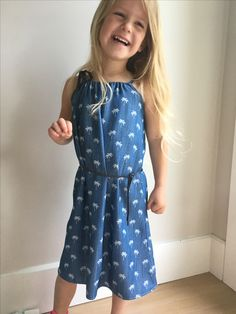 Girls palm tree denim dress Palm, Summer Dresses, Denim, Girls, Fashion, Moda, Summer Sundresses, Daughters, Fashion Styles