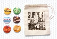 Great idea for nonprofits who give out swag at conferences/tradeshows