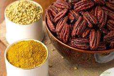 You will find these Sweet Curried Pecans useful for all kinds of culinary delights from salad toppings to a wonderful savory, spicy snack.