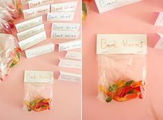"""""""Book Worms"""" Snack....  """"Book Worms"""" Activity - print book covers, rip or cut them up, glue to a picture of a worm"""
