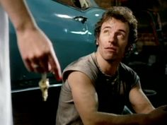 bruce springsteen I'm on Fire video