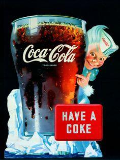 1945 Coca Cola Ad Have A Coke