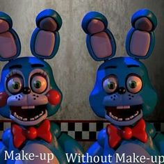 Toy Bonnie without makeup by FantasyYen on DeviantArt Fnaf, Freddy 's, Iconic Characters, Without Makeup, Jack Black, Five Nights At Freddy's, Smurfs, Cute Pictures, Deviantart