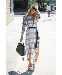 HOW TO WEAR PLAID WITHOUT LOOKING LIKE A SCHOOLGIRL