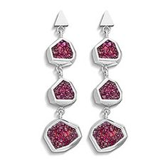 Triple Pierced Earrings, Atelier Swarovski by Arik Levy
