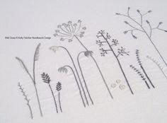 Wild Grass modern hand embroidery pattern от KFNeedleworkDesign