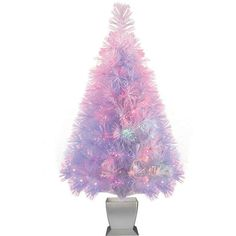 "Fiber Optic Artificial Christmas Tree Pre-Lit 32"" Xmas Trees Holiday Decoration  #HolidayTime"