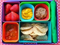 Need a healthier option for those lunchable nachos? this version has better ingredients and healthy fruit options
