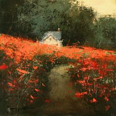 Galleries in Carmel and Palm Desert California - Jones & Terwilliger Galleries - Romona Youngquist: Landscape Artwork, Abstract Landscape, Paintings I Love, Pastel Art, Art Oil, Gouache, Painting Inspiration, Les Oeuvres, Painting & Drawing