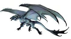 Storm Blue Dragon by Exileden