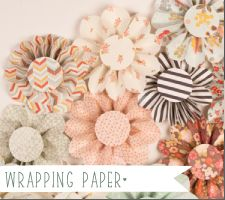 DIY::Wrapping paper flower Tutorial