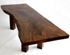 meubles bois brut - table basse