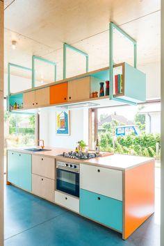 Home Decor Kitchen, Kitchen Interior, New Kitchen, Home Kitchens, Kitchen Black, French Kitchen, Plywood Kitchen, Interior Decorating, Interior Design