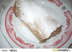 Štrúdl z rýžového papíru recept - TopRecepty.cz Rice Flour, Cheesecake, Cooking Recipes, Healthy, Ethnic Recipes, Sweet, Food, Candy, Cheesecakes