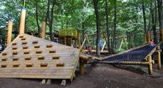 obstacle course above water for teens - Google Search
