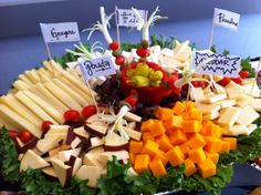 Travel around the world with our Import Cheese Display!